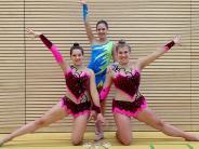 Rhythmische Gymnastik: Drei Friedbergerinnen auf Platz eins