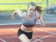 Sportskanone: Mit Vollgas über die Tartanbahn