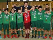 Futsal: D-Jugend : Der Favorit holt sich die Krone