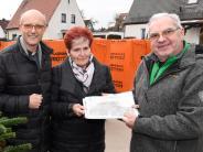 : 5000 Euro helfen für den Wiederaufbau