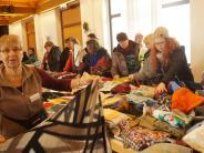 Kissing: Schätze aus dem Nähkästchen beim Handarbeitsflohmarkt in Kissing