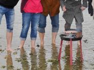 """Kaltwasser-Grill-Challenge: Von der Spendenwelle """"eiskalt"""" erwischt"""