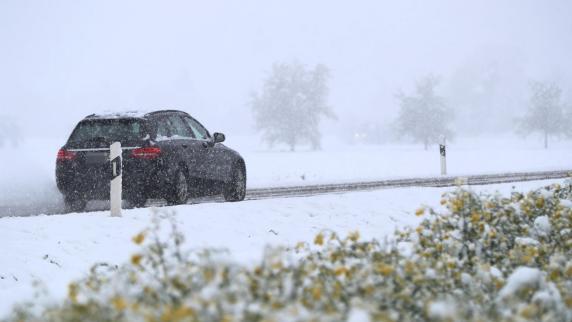 Polizei in Friedberg: Wintereinbruch sorgt für viele Unfälle