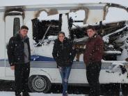 Aichach-Friedberg: Rettung in letzter Minute: Feuer überrascht Zirkusfamilie im Schlaf