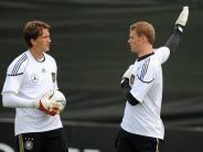 Fußball: Adler hegt keine Ansprüche auf DFB-Tor
