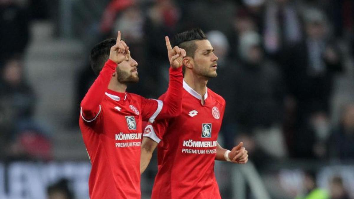 fussball mainz gegen frankfurt