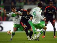Fußball: Wolfsburg verliert Anschluss an CL-PLätze - 1:1 gegen HSV