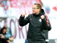 Fußball: Rangnick vor drittem Aufstieg - Leipzig «durchgestartet»