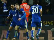 Fußball: Vardy-Wahnsinn in Leicester: Klopp lobt Super-Stürmer