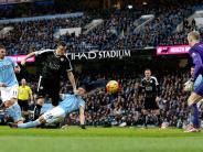 Fußball: Leicester düpiert Verfolger ManCity - Huth trifft doppelt