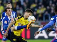 Fußball: 0:0 gegen BVB: «Süßer» Punkt für mutige Hertha