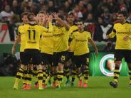 DFB-Pokal: Dortmund und Bremen stehen im Halbfinale des DFB-Pokals