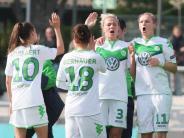 Fußball: Wolfsburgs Frauen gewinnen Fernduell gegen Frankfurt