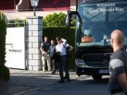 Fußball: Herzlicher Empfang: EM-Feinschliff in Ascona