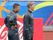 """Fußball-Freunde: Podolski findet Umgang mit Schweinsteiger """"unwürdig"""""""