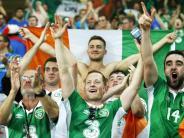 Fußball: Irlands Fans sind die Lieblinge der EM