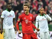 FC Bayern München: Bayern bezwingt Werder: Müller und Lewandowski treffen doppelt