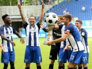 Fußball: HerthaBSC gewinnt Turnier in Duisburg - Frankfurt Dritter