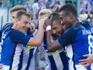 Fußball: Ibisevic-Traumtor sorgt für gutes Euro-Comeback Herthas