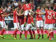 Fußball: Traumtor und Turbostart: Bayern fertigen Bremen 6:0 ab