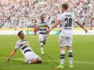 Gladbach gegen Leverkusen: Stindl rettet Mönchengladbach: 2:1 gegen Leverkusen