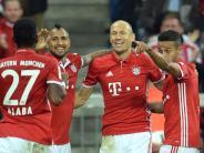 Fußball: Robben vor Startelf-Comeback beim FC Bayern