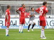 Rummenigge kritisiert Mannschaft: Nur 2:2 in Frankfurt: FC Bayern enttäuscht erneut