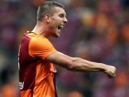 2:1 bei Kasimpasa: Podolski trifft bei Galatasaray-Auswärtssieg