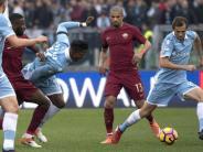 Roma-Derby: Bosnier Lulic entschuldigt sich nach Beleidigung Rüdigers