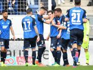 Auf Europacup-Kurs: 5:2 gegen Ingolstadt: Hoffenheim wirbelt