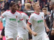 «Kleiner Schritt»: FCAugsburg zittert sich zum 2:1 gegen 1. FCKöln