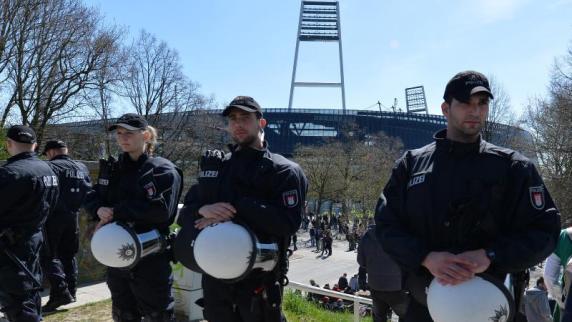 DFL und Bremen streiten vor Gericht über Polizeikosten