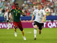 Doppelpack gegen Kamerun: Stürmer der Zukunft: Werner nutzt Chance beim Confed Cup