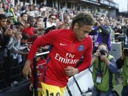 3:0 bei EAGuingamp: Neymar trifft: Erfolgreiches Debüt für Paris Saint-Germain