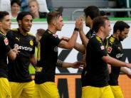 Hilflose Wölfe: Bartra-Traumtor und Götze-Comeback:BVB besiegt Wolfsburg