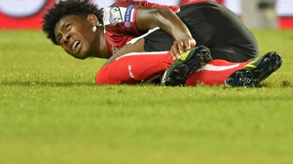 David Alaba fällt mit Sprunggelenks-Verletzung aus
