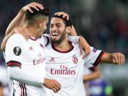 Europa-Comeback: Dank Calhanoglu:ACMailand startet furios inEuropa League