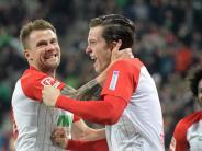 Überraschungsteam siegt 1:0: FC Augsburg schlägt auch Vizemeister Leipzig