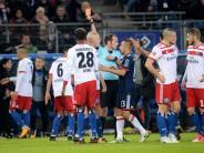 Bundesliga: Bayern gewinnen 1:0 gegen zehn Hamburger