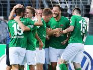DFB-Pokal zweite Runde: Schweinfurt hofft im Pokal auf Sensation gegen Frankfurt