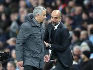 Erster gegen Zweiter: Derby-Kracher in Manchester: Mourinho will Guardiola stoppen