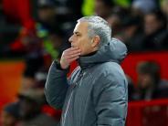 Nach Manchester-Derby: Mourinho von City-Spielern mit Milch beworfen