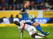 Derby in Sinsheim: Hoffenheim bleibt nach Sieg gegen Stuttgart oben dran