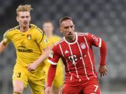 Sieg gegen Großaspach: FCBayern gewinnt letzten Test 5:3 - Ribéry trifft dreimal
