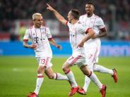 FCB-Start nach Maß: Bayern eröffnen Rückrunde mit Sieg in Leverkusen