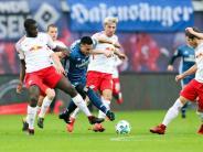 Bundesliga: Hollerbach feiert Punktgewinn bei HSV-Debüt: 1:1 in Leipzig