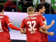 Bundesliga: Stuttgart 1:1 bei Korkut-Einstand - FC Bayern mit souveränem Sieg