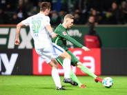 Abstiegskampf: Bremer Befreiungsschlag mit 3:1 gegen Wolfsburg