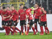 23. Spieltag: Freiburg siegt dank Petersens Jubiläumstor: 1:0 gegen Werder