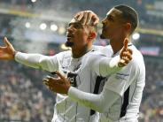 Fußball-Bundesliga: Frankfurt gewinnt Montagsspiel gegen Leipzig
